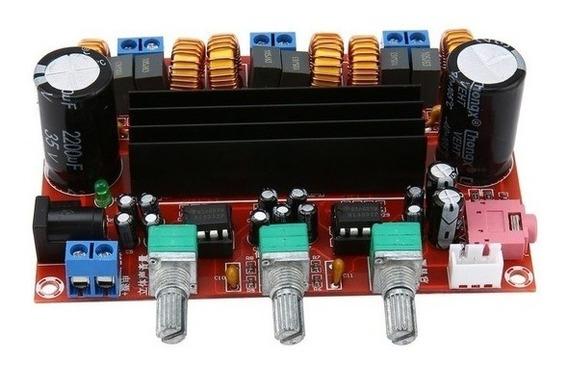 Placa Montada Amplificador 2.1 - 200w Rms 50w+50w+100w