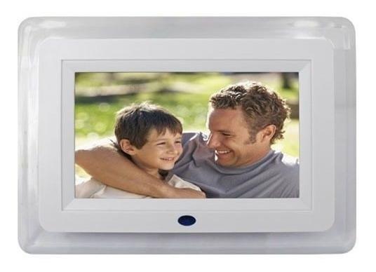 Porta Retrato Digital 7 Polegada Usb Mp3 Video E Controle