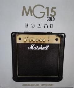 Amplificador Para Guitarra (caixa) Marshall Mg 15 Gold