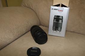 Lente Canon 75x300 Seminova Usada 2x