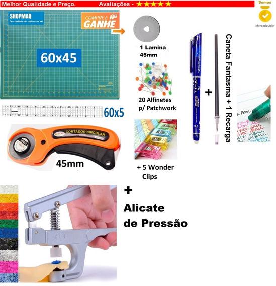 Base De Corte 60 +régua60x5 +cort. A+ Alicate+1cant+1recg+
