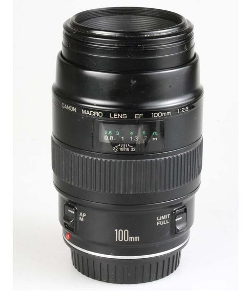 Objetiva Canon Ef 100mm F2.8 Macro