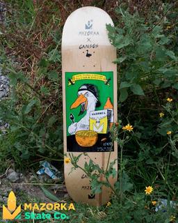 Tabla De Skateboard Mazorka X Gansos