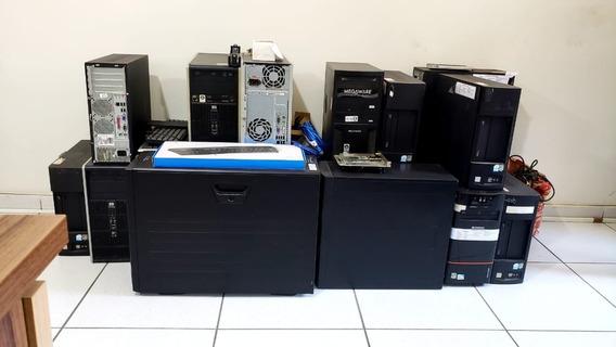 Lote Pcs - 17 Cpu Hp 1gb 2.60ghz 160gb Athlon Duo Core