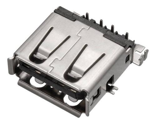 Imagem 1 de 3 de 5 Unidades Conector Fêmea Usb 3.0 Jack 9 Pinos
