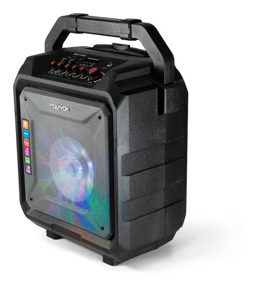 Caixa De Som Amplificada Xb450 Polyvox Bluetooth Bateria200w