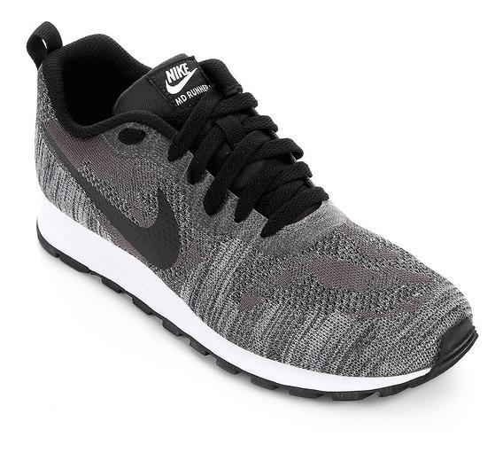 Tênis Nike Md Runner 2 19 Feminino - Preto E Chumbo