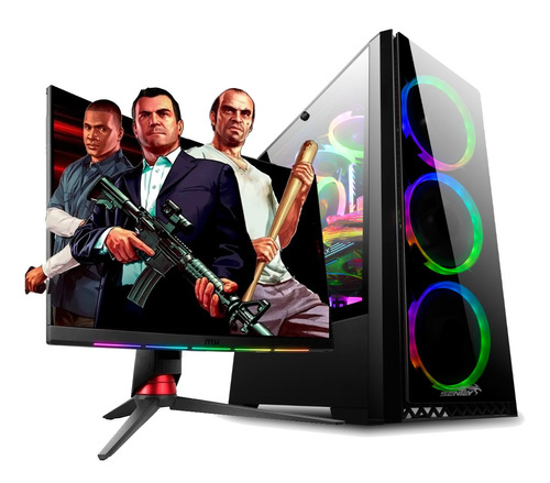 Imagen 1 de 8 de Pc Armada Gamer Amd Ryzen 5 5600x 16gb Ram Nvidia Rtx 3060