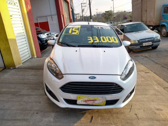 Ford Fiesta Sedan 1.6 Branco 2015/2015