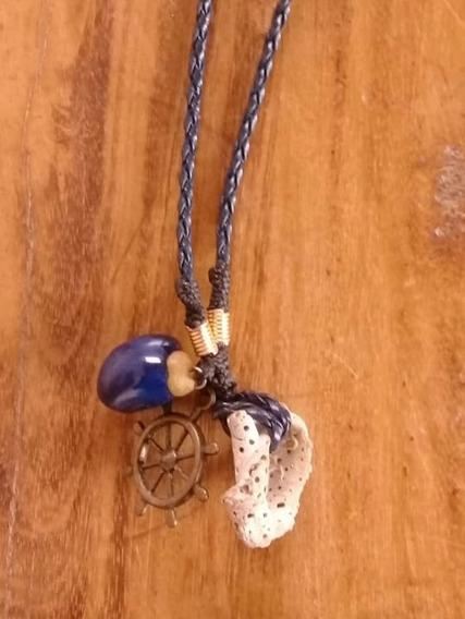 Colar Marinheiro E Encantos Do Mar Amuleto