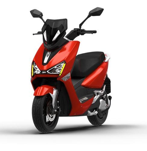 Imagem 1 de 8 de Scooter Moto Elétrica Voltz Ev1 Vermelha - Uma Bateria