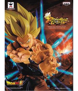 Figura Original Goku Ssj Kamehameha Dragon Ball Legends
