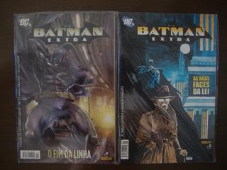 Hq Batman Extra Panini - Completo Volumes 1 Ao 15