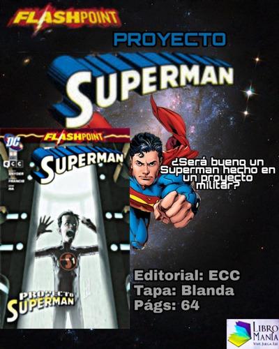 Flashpoint: Proyecto Superman. Cómic Ecc
