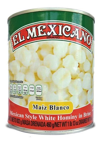 Maíz Pozolero El Mexicano 822 Grs