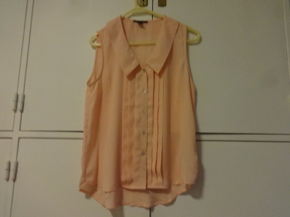 Camisa Sin Mangas, For Ever 21, Talle S