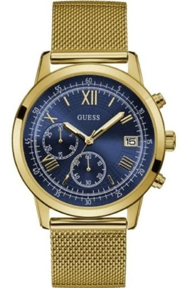 Relógio Masculino Guess Analógico 92680gpgdda8 Dourado