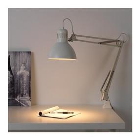 Ikea Tertial Lampara D Escritorio Y/o Restirador Blanco