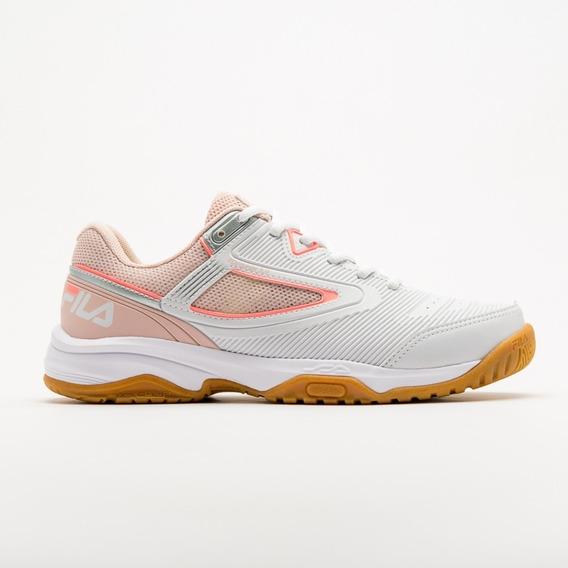 Tênis Fila Top Spin 3.0 - Branco/rosa Claro/salmão