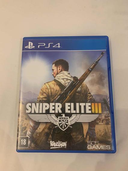 Sniper Elite 3 - Jogo - Ps4