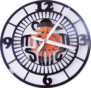 Relojes Artesanales Calados En Discos De Vinilo