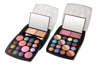 Kit De Maquillaje Sombre Y Rubor
