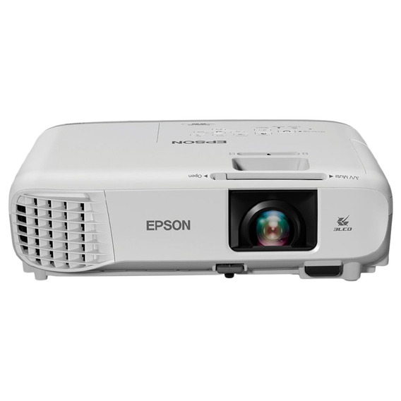 Projetor Svga Epson Powerlite S39 3300 Lumens Branco