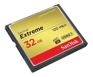 Memoria Compact Flash Extreme 32gb 120mb/s Sandisk Revogames