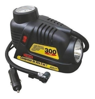 Compresor De Aire 300 Psi 3 En 1 12 Volts