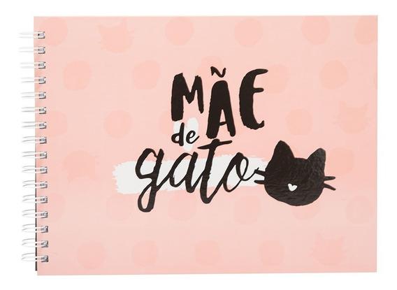 Álbum Scrapbook Uatt? Mãe De Gato