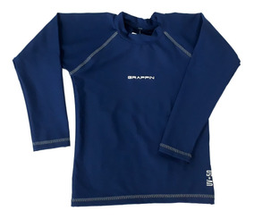 2 Camisetas Lycra Proteção Uv Praia Inf Grappin Frete Grátis