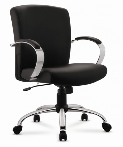 Cadeira Giratória Executiva Relax 2080 Cromada - Cercatto