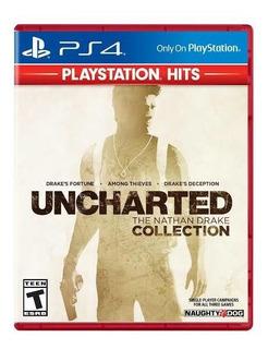 Uncharted Collection Ps4 Nuevo Sellado Fisico Hits