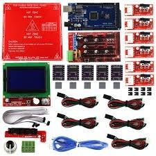 Kit Impressora 3d - Parte Eletrônica Completa + Vidro