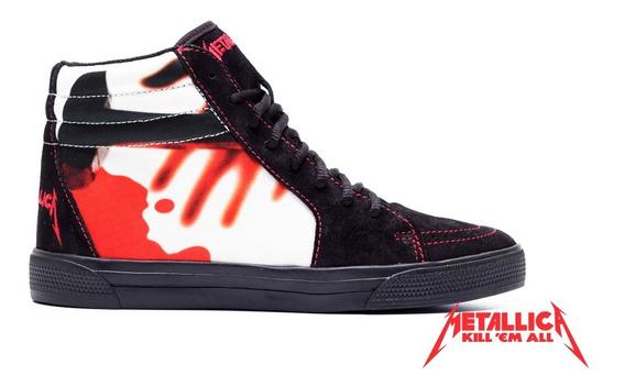 Tênis Metallica Kill