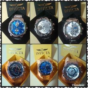Relógios Masculino Invicta+ Caixa