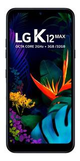 Smartphone Lg K12 Max, Preto, Tela 6,2 , 32gb, 13mp+2mp