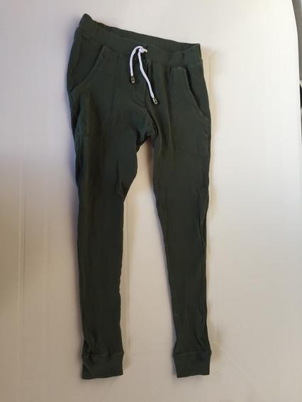 Pantalon Jogging Chupin Verde Talle 16