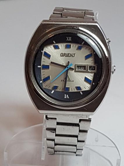 Relogio De Pulso Vintage Orient Automatico Crono Ace 23j
