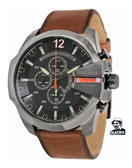 Reloj Diesel Mega Chief Dz4343 En Stock Original Garantia