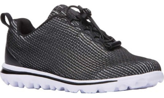Zapatos Dama 29 M / 12 M Propêt Textil Sneaker Comfort Negro