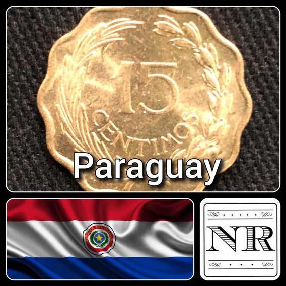 Paraguay - 15 Centimos - Año 1953 - Km # 26 - Alveolada