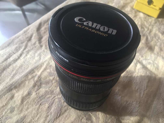Lente Canon 16-35mm Original Melhor Preço Filtro Uv Brinde