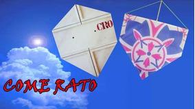 Pipa Atacado 200 Come Rato De 45 Papel Fantasia