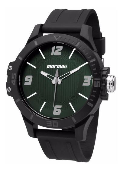 Relógio Mormaii Masculino Mo2035fl/8v Analogico Verde Oferta