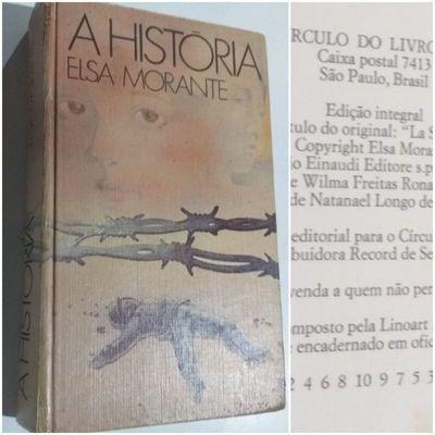 Livro A História Elsa Morante
