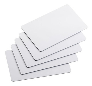 Tarjeta Pvc Nfc Ntag215 Sólida Y Resistente - En Blanco 10 Piezas