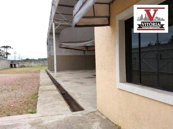 Barracão Industrial Para Transportadora, Para Alugar - Borda Do Campo - São José Dos Pinhais/pr - Ba0005