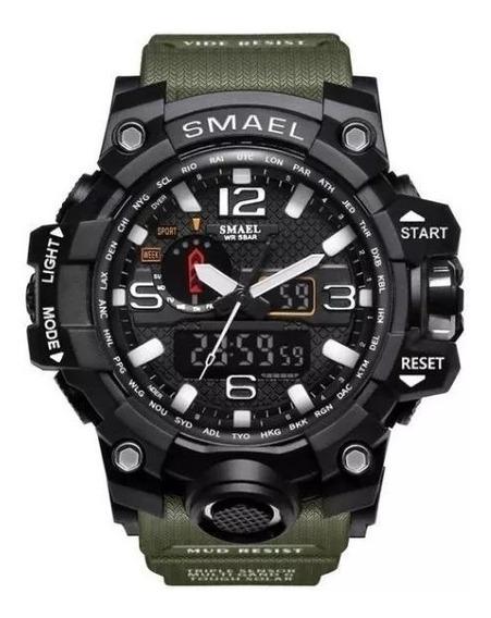 Relógio Militar / Exercito Digital Analógico Smael
