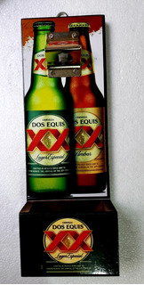 Cerveza Cartel Destapador Con Deposito Corcholatas Cantina